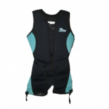 Buoyancy suit dames blauw