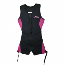 Buoyancy suit dames roze