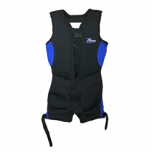 Buoyancy suit junior blauw